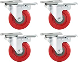 4 inch replacement caster wheels