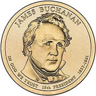2010 S Proof James Buchanan Presidential Dollar Choice Uncirculated US Mint