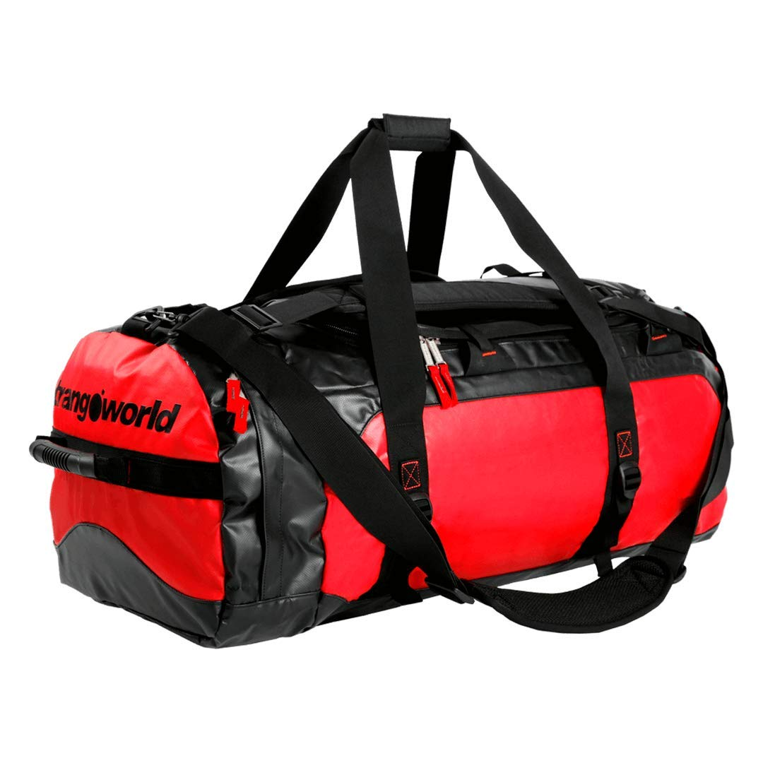 Trango Erwachsene Tasche BOLSO EXPEDICION 80, Mehrfarbig (Rojo/Negro), 60 Centim