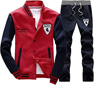 0421fb1b195a Rocky Sun Mens Slim Fit Jogging Sweat Suits Casual Tracksuits + Pants