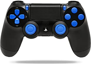 Black/Blue PS4 Playstation 4 Rapid Fire Modded Controller for COD Black Ops 3, AW, Ghosts, Destiny, Battlefield: Quick Scope, Drop Shot, Auto Run, Sniped Breath, Mimic, More