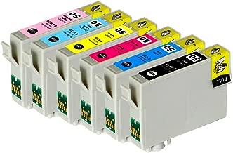 EPSON エプソンプリンターインク [IE1-set] EP-705A用 互換インクカートリッジ IC6CL50/6色セット/純正互換インク/染料インク/大容量6本合計60ml