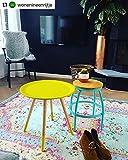 Rozenkelim Vintage Teppich   Shabby Chic Look Teppichläufer für Wohnzimmer, Schlafzimmer und Flur   70% Polypropylen, 30% Baumwolle (Pastell, 225cm x 155cm, 8 mm hoch) - 5