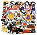 A Sticker Shop [54pcs Friends tv Show Creative DIY Stickers Funny Decorative Cartoon for Cartoon PC Luggage Computer Notebook Phone Home Wall Garden Window Snowboard