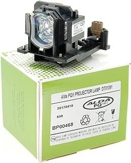 l/ámpara con carcasa Alda PQ-Premium L/ámpara de proyector para MITSUBISHI XD600U Proyectores