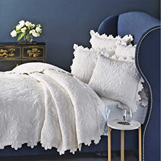 Be-you-tiful Home Kayla Quilt Set, Over Over Size King, Ivory