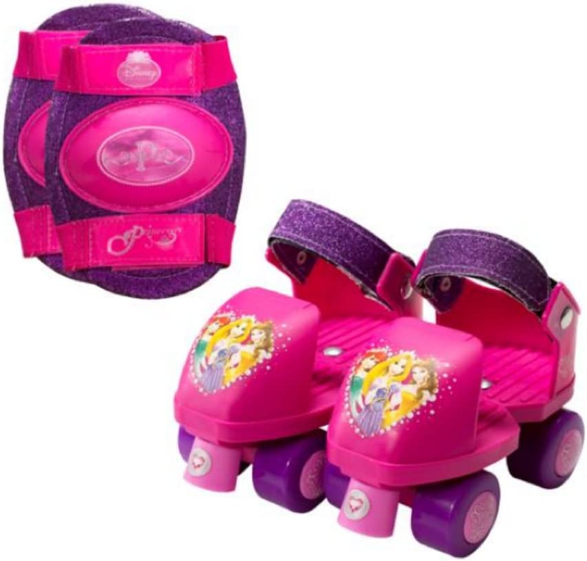 Disney New Free Shipping Princess Adjustable Beauty products Junior Roller Skates roller Gi