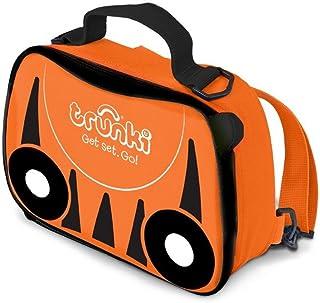 Trunki Kids Insulated Lunch Bag & Backpack With Shoulder Strap - TIpu Tiger (Orange)