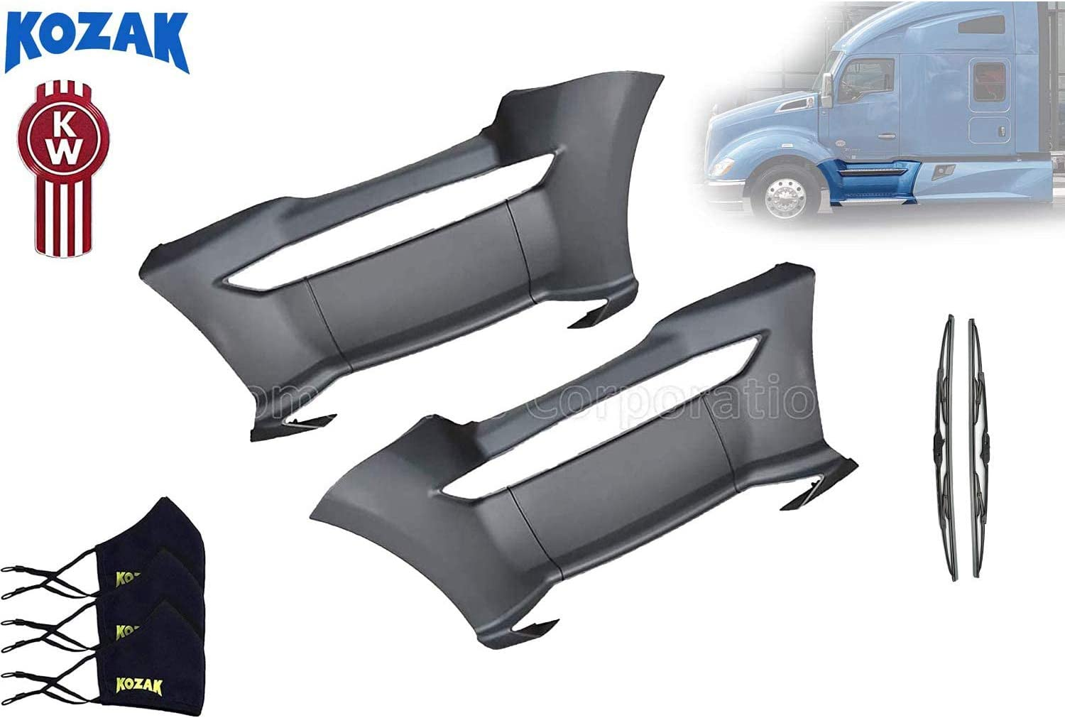 Kozak Max 43% OFF Replacement Front Step Fairing Passenger L Right Quality inspection and Panel