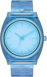 Nixon A119-3143 Time Teller P Women's Watch Blue 40mm Stainless Steel