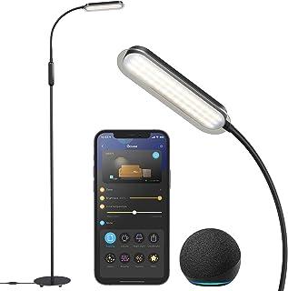 چراغ طبقه Govee برای اتاق نشیمن ، چراغ ایستاده Alexa Voice و کنترل برنامه بلوتوث وای فای هوشمند ، چراغ مطالعه مدرن ، چراغ طبقه سفید گرم و خنک قابل تنظیم برای اتاق خواب