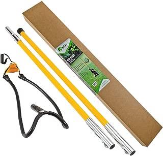 Notch Set1027D Big Shot Throw Line Launcher Standard Kit, Black/Yellow