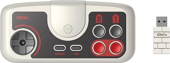 8Bitdo PCE 2.4G Wireless Gamepad for PC Engine Mini, PC Engine CoreGrafx Mini, TurboGrafx-16 Mini & Nintendo Switch (PCE E...