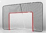 Acon Combo de hockey Wave | Incluye portería de hockey de tamaño oficial, red de hockey y red de respaldo rectangular