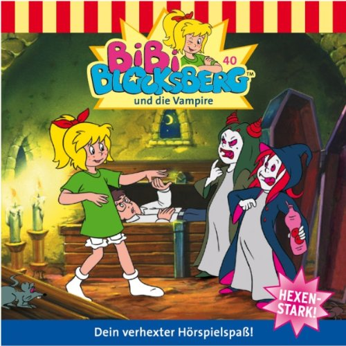 Bibi und die Vampire audiobook cover art