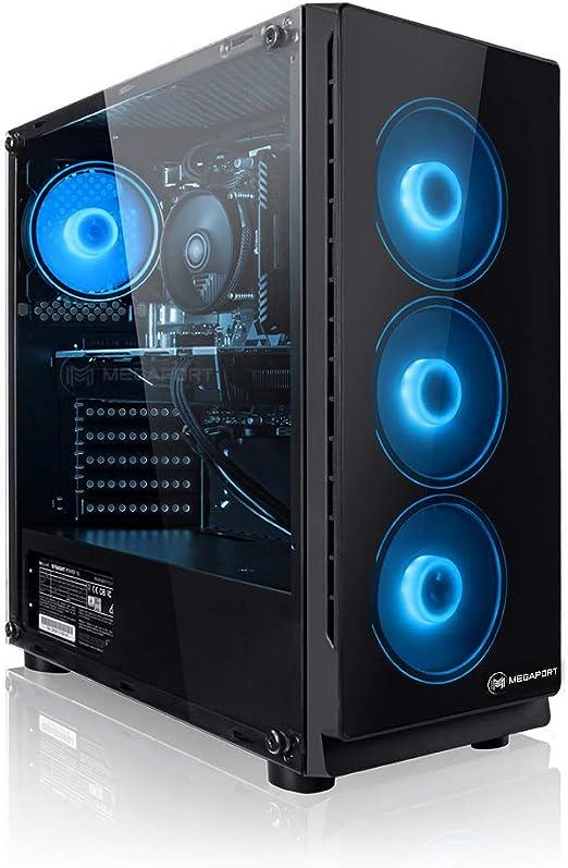 Megaport PC-Gaming AMD Ryzen 5 5600X 6x 3.70GHz /• Nvidia GeForce RTX 3060 12GB /• 1TB M.2 High Performance SSD /• 16GB DDR4 3000 RAM /• Windows 10 Home /• WiFi