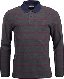 Barbour Men's Lineout Stripe Shirt Dark Grey
