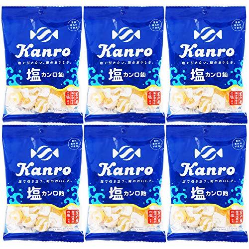 カンロ 塩カンロ飴 140g ×6袋