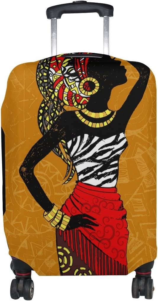 My NEW Daily African Woman Luggage Cover Suitcase Inch Fits Genuine Sp 22-24