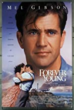 Forever Young (1992) Original U.S. One-Sheet Movie Poster 27x40 MEL GIBSON JAMIE LEE CURTIS Film directed by STEVE MINER