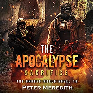 The Apocalypse Sacrifice audiobook cover art