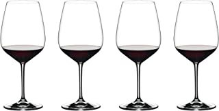 Riedel Exclusiv Vinum Extreme 4er-Set Weingläser, Rotwein, ideal für Cabernet, Bourdeaux
