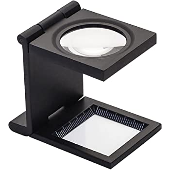 Liying Desktop Folding Magnifier Glass with LED Light Reading Magnifying Eye Loupe Stand Lamp Loupe Lamp
