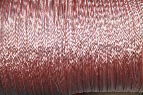 Weddecor Satijn Pijpkoord, Lange Trim String voor Bruidsjurken, Naaiende Kunsten, Ambachten Decoratie, Scrapbooking, Versieringen - 7mm Invoerband Breedte, 5 Meter