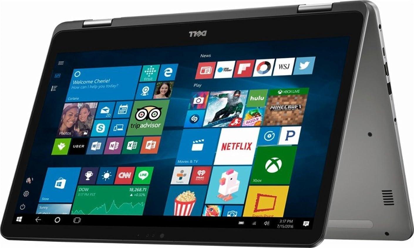 2019 Premium Flagship Dell Inspiron 17 7000 17.3 Inch FHD Touchscreen Laptop (Intel Core i7-8550U up to 4.0GHZ, 16GB DDR4 RAM, 1TB SSD + 1TB HDD, Backlit Keyboard, Bluetooth, WiFi, HDMI, Windows 10)