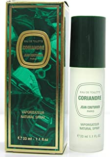 Jean Coututier Coriandre Eau De Toilette Spray 33ml