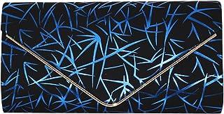 Cckuu Ms/Lady Fashion Pattern Sling Bag Foldover Party Prom Clutch Purse Handbag
