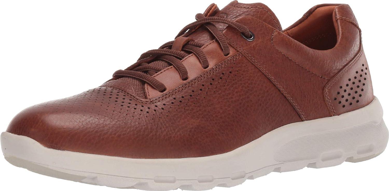 Rockport Mens Lets Walk Plain Toe Sneaker