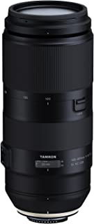 Tamron 100-400mm F/4.5-6.3 VC USD Telephoto Zoom Lens for Nikon Digital SLR Cameras (6 Year Limited USA Warranty)