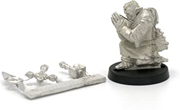 Stonehaven Half-Orc Cleric Miniature Figure (for 28mm Scale Table Top War Games) - Made in USA