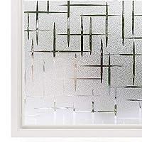 JINRAN ガラスドアホーム熱制御アンチUVための3Dウィンドウプライバシー静的ウィンドウフィルムしがみつくビニール窓用ステッカーウィンドウステッカー (Size : 90x200cm)