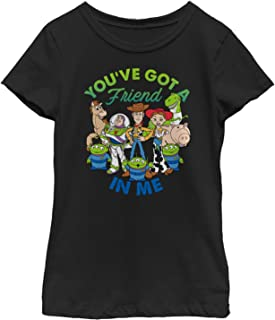 Toy Story Girls' Friend in Me Scene T-Shirt