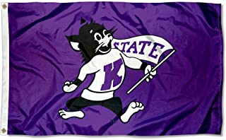 College Flags & Banners Co. K State Wildcats Vintage 3x5 Flag