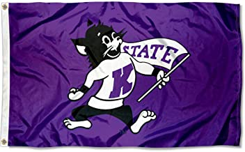 College Flags and Banners Co. K State Wildcats Vintage 3x5 Flag