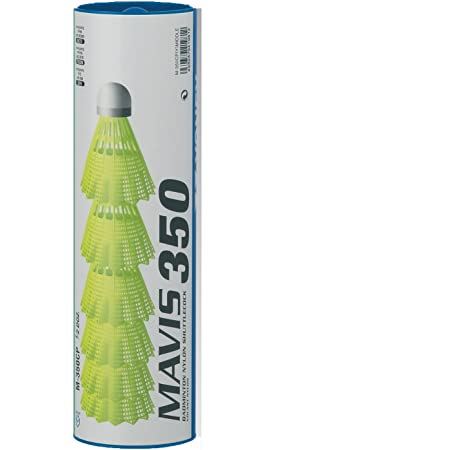 1//2 dz Tube YONEX Mavis 350 White Medium Speed