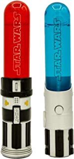 Star Wars Luke Skywalker and Darth Vader Light-up Mini Lightsaber Bubbles (2 Packs)