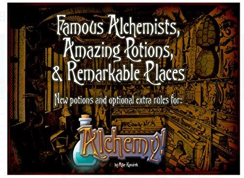 Aviary Games Alchemy! Alquimistas Famosos, Puntas increíbles y Lugares destacables.