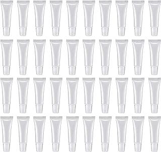 50Pcs 8ml Empty Lip Gloss Tubes Empty Lip Balm Tubes for DIY Lip Gloss Balm Cosmetic by HRLORKC