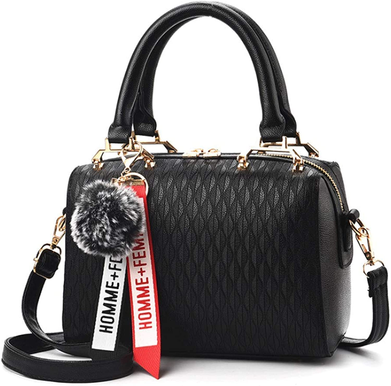 YKXIAOYU Women's Handbag 2019 Spring New Womens Bag Cross Shoulder Black Bag