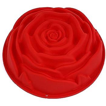 per Dolci Strumenti di bricolage in Silicone Cioccolato liangjunjun a Forma di Girasole Stampo Grande da 25,4 cm