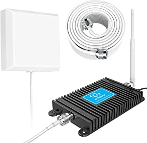 Verizon Phone Booster 4G LTE Cell Phone Signal Booster 700MHz Band 13 FDD Verizon Mobile Signal Repeater Amplifier Antenna Kits, for Home and Office up to 4000 Sq Ft, Improve 4G LTE Data and 4G Calls