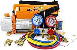 comprar comparacion BACOENG Juego de manómetros diagnósticos, Bomba de vacío, Ideal para R22 R134a R410A R407C