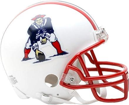 Riddell New England Patriots Z2B Replica Mini Helmet 65-81
