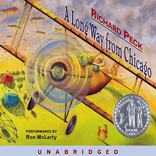 A Long Way from Chicago audiobook cover art
