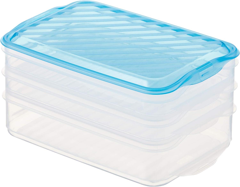 Amazon Basics – Cajas para almuerzo apilables