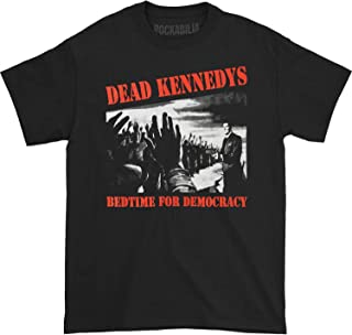 Dead Kennedys Men's Bedtime for Democracy T-Shirt Black
